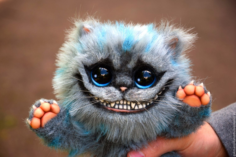 Мягкая игрушка чеширский кот