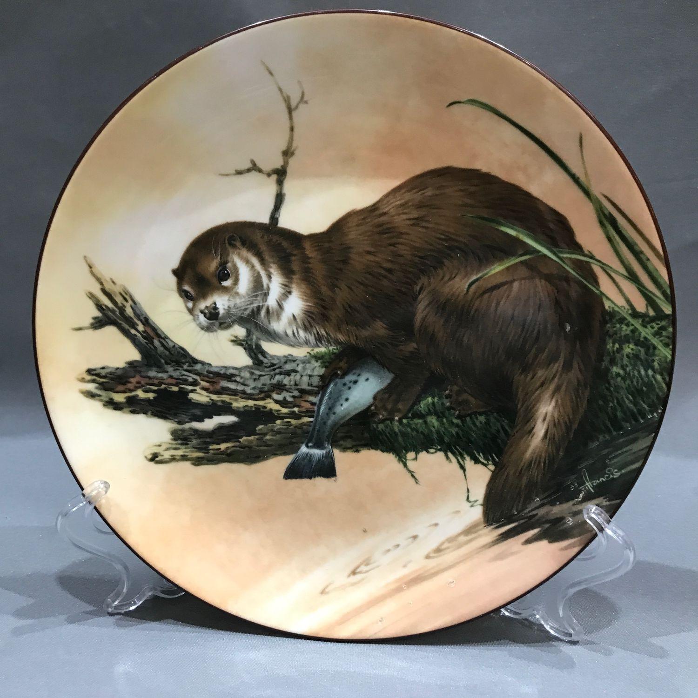 Vintage: Collection plate Otter at Dusk Wedgwood (4450), Vintage interior, Tyumen,  Фото №1