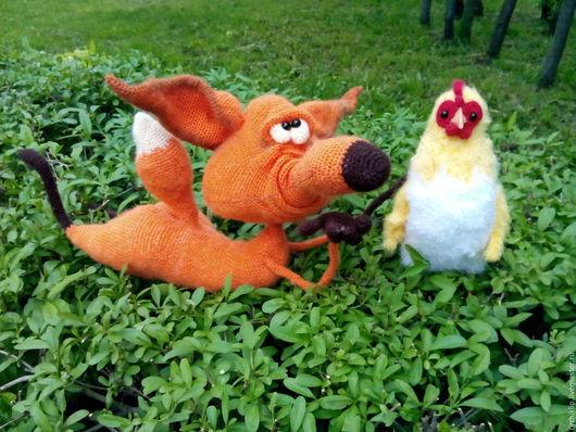 Игрушки животные, ручной работы. Ярмарка Мастеров - ручная работа. Купить Лис. Handmade. Рыжий, ручная работа handmade, лисичка