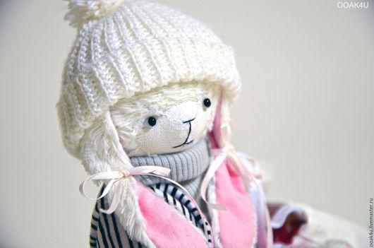 Мишки Тедди ручной работы. Ярмарка Мастеров - ручная работа. Купить Фифочка - Лапочка. Handmade. Белый, handmade, ooak, collectible
