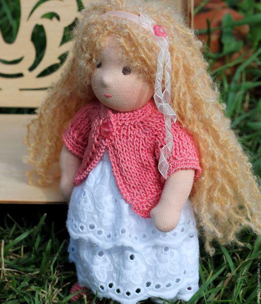 Вальдорфская игрушка ручной работы. Ярмарка Мастеров - ручная работа. Купить Малышка Элиза (вальдорфская кукла 22 см). Handmade.