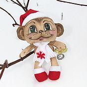 Куклы и игрушки ручной работы. Ярмарка Мастеров - ручная работа Мартин - арома обезьянка. Handmade.