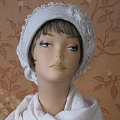 """Аксессуары ручной работы. Ярмарка Мастеров - ручная работа """"Очей очарование"""" - теплая авторская шапочка. Handmade."""