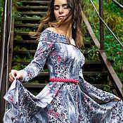 Одежда ручной работы. Ярмарка Мастеров - ручная работа Платье из джерси. Handmade.