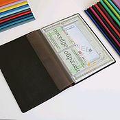 Канцелярские товары handmade. Livemaster - original item Organizer for documents A4 format bitter chocolate. Handmade.