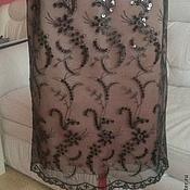 Одежда ручной работы. Ярмарка Мастеров - ручная работа юбка с паетками. Handmade.