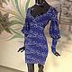 """Платья ручной работы. Ярмарка Мастеров - ручная работа. Купить Платье кружевное """"Глубокое синее море"""" - возможно сделать блузку. Handmade."""