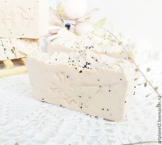 """Мыло ручной работы. Ярмарка Мастеров - ручная работа. Купить """"Тонкая нота"""" натуральное мыло с нуля. Handmade. Эфирное масло"""