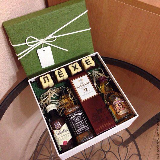 Подарок мужчине своими руками в коробке
