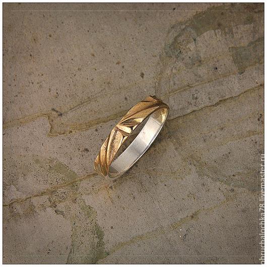 """Кольца ручной работы. Ярмарка Мастеров - ручная работа. Купить Кольцо""""Бриз"""". Handmade. Золото, белое золото 585 пробы"""
