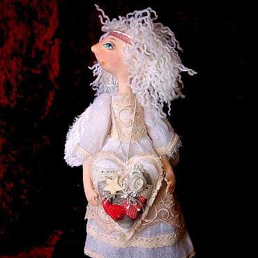 Куклы и игрушки ручной работы. Ярмарка Мастеров - ручная работа Сердешный Ангел. Handmade.