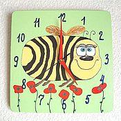 Для дома и интерьера handmade. Livemaster - original item Watch baby wall Bee, handmade watches. Handmade.