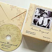 Сувениры и подарки ручной работы. Ярмарка Мастеров - ручная работа Конверт для диска с фотографией + диск. Handmade.