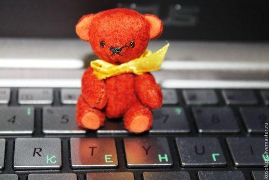 Мишки Тедди ручной работы. Ярмарка Мастеров - ручная работа. Купить Миня. Handmade. Коричневый, миник, мишка тедди