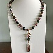 Работы для детей, handmade. Livemaster - original item Tourmaline beads