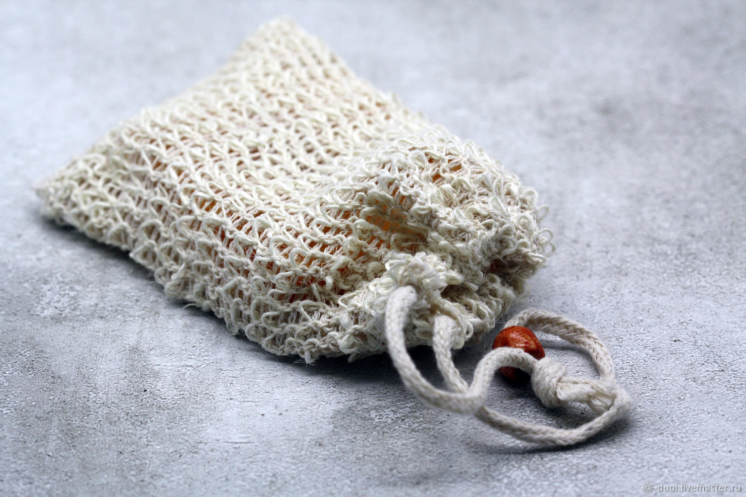 Natural soap loofah pouch, Washcloths, Moscow,  Фото №1