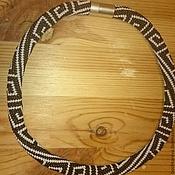 Украшения ручной работы. Ярмарка Мастеров - ручная работа жгут из бисера Греция. Handmade.