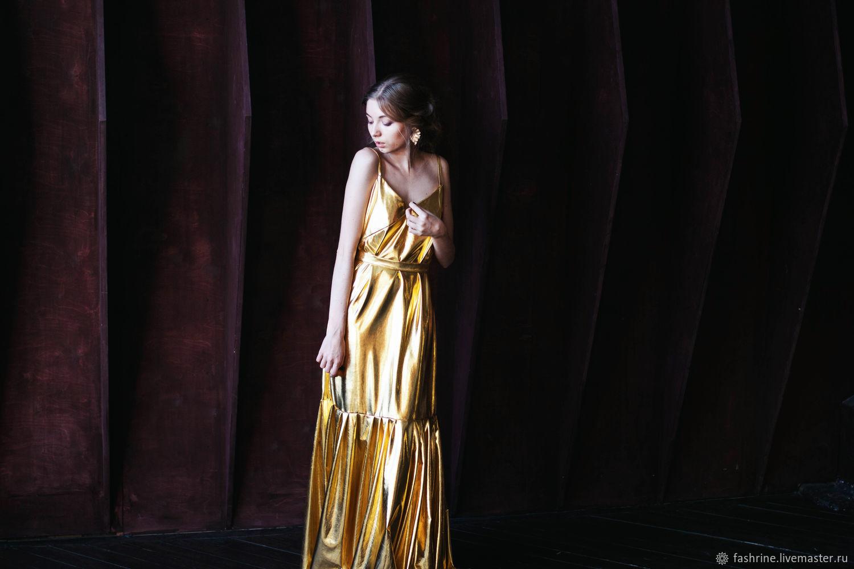 Золотое платье, Платья, Москва,  Фото №1