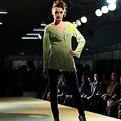 Одежда handmade. Livemaster - original item Cardigan made of wool Apple Green. Handmade.