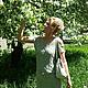 """Платья ручной работы. Платье вязаное""""Легкость"""". от Хелен (otHelen). Интернет-магазин Ярмарка Мастеров. Вязаное платье купить, ручное вязание"""