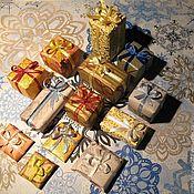 Мини фигурки и статуэтки ручной работы. Ярмарка Мастеров - ручная работа Рождественские подарки 1:12. Handmade.