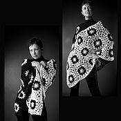 """Одежда ручной работы. Ярмарка Мастеров - ручная работа Пончо """"Домино"""". Handmade."""