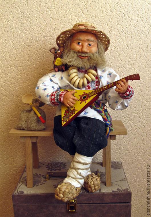 Коллекционные куклы ручной работы. Ярмарка Мастеров - ручная работа. Купить Домовой Батюшка  Авторская кукла. Handmade. Коллекционные куклы