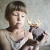Куклы и игрушки ручной работы. Ярмарка Мастеров - ручная работа Гордый Лось. Handmade.