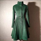 Одежда ручной работы. Ярмарка Мастеров - ручная работа Пальто-платье. Handmade.
