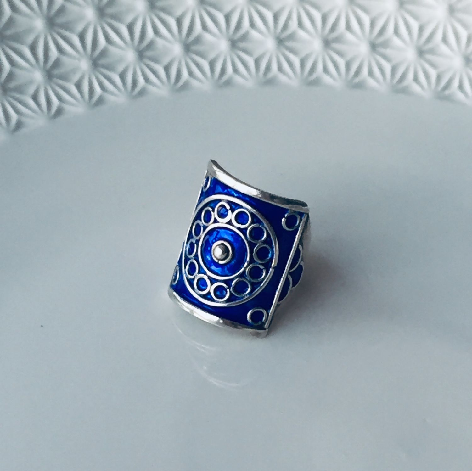 Ring with filigree and enamel, Rings, Moscow,  Фото №1