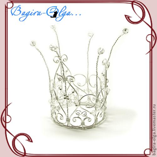 """корона """"Маленькая принцесса"""", Украшения для причесок, Москва,  Фото №1"""