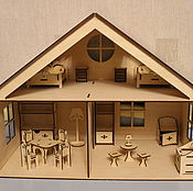 Куклы и игрушки handmade. Livemaster - original item Dollhouse Standard. Handmade.