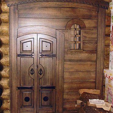 Для дома и интерьера ручной работы. Ярмарка Мастеров - ручная работа Дверь из массива ясеня. Handmade.