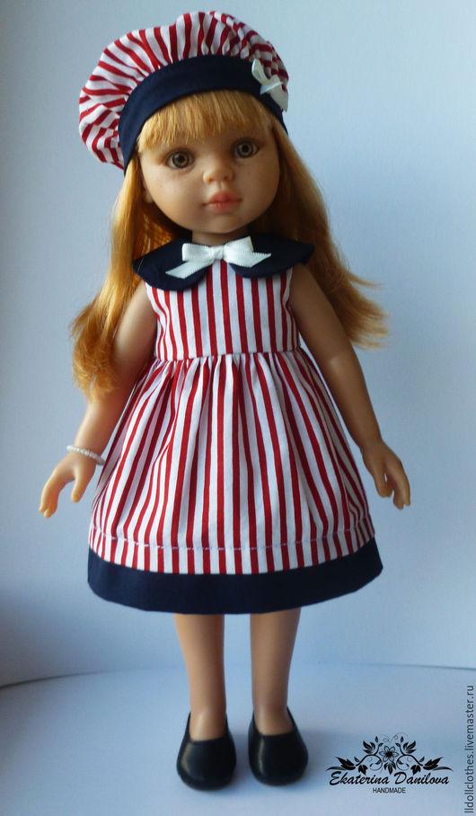 Одежда для кукол ручной работы. Ярмарка Мастеров - ручная работа. Купить Продано Комплект для куклы Paola Reina. Handmade. Комбинированный
