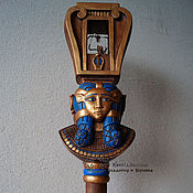 Музыкальные инструменты handmade. Livemaster - original item A sistrum is a musical instrument of Hathor. Handmade.
