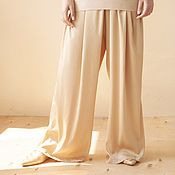 Одежда handmade. Livemaster - original item Women`s silk trousers. Handmade.