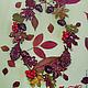 """Комплекты украшений ручной работы. Ярмарка Мастеров - ручная работа. Купить Комплект """"Осенний листопад"""". Handmade. Разноцветный, листья"""