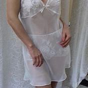 Одежда handmade. Livemaster - original item Set panties and chemise.. Handmade.