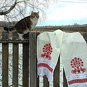 Русский стиль handmade. Livemaster - original item Towel ritual. Handmade.