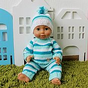 Куклы и игрушки handmade. Livemaster - original item Baby born clothes, baby doll costume, doll clothes. Handmade.