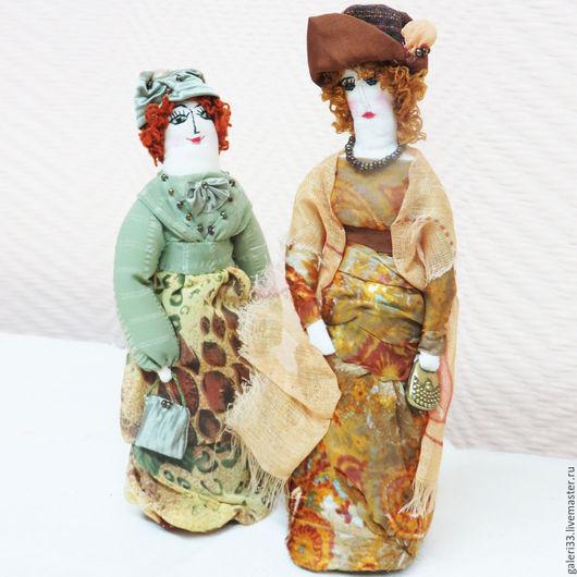 Коллекционные куклы ручной работы. Ярмарка Мастеров - ручная работа. Купить Горожанка - авторская кукла. Handmade. Авторская кукла, кремовый