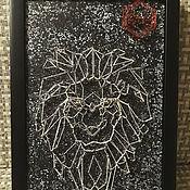 Картины и панно handmade. Livemaster - original item Painting in the technique of string art. Handmade.