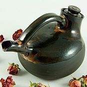 """Посуда ручной работы. Ярмарка Мастеров - ручная работа Чайник """"Песок семи пустынь"""". Handmade."""