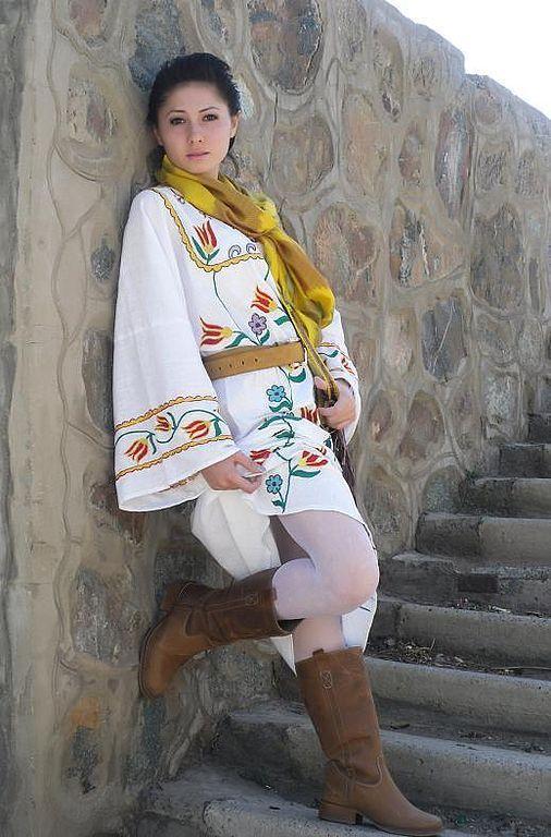 """Платья ручной работы. Ярмарка Мастеров - ручная работа. Купить платье """"Очарование тюльпанов"""". Handmade. Платье, длинное платье, ситец"""