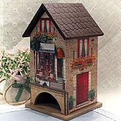 """Домики ручной работы. Ярмарка Мастеров - ручная работа Чайный домик """"В старом городе"""". Handmade."""