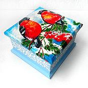 Для дома и интерьера handmade. Livemaster - original item Box-casket
