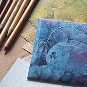 """Открытки ручной работы. Ярмарка Мастеров - ручная работа """"Чайное счастье"""" - набор коллекционных открыток. Handmade."""