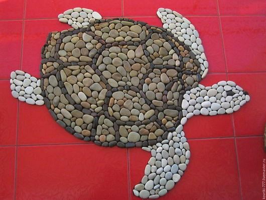 Каменный коврик `Черепаха` Разм.91*75 см. Цена13000 руб.