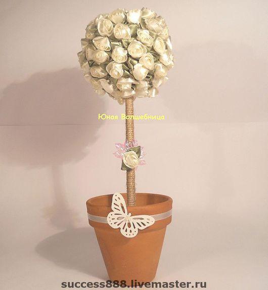 Свадебные цветы ручной работы. Ярмарка Мастеров - ручная работа. Купить Цветочное дерево. Handmade. Украшение интерьера, украшение стола