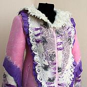 """Одежда ручной работы. Ярмарка Мастеров - ручная работа """"Сицилийский марципан"""" жакет-куртка. Handmade."""